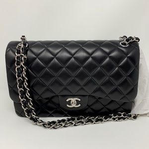 CHANEL Bags - Chanel Quilted Lambskin Classic Double Flap Bag
